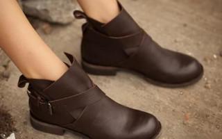 C чем носить ботинки